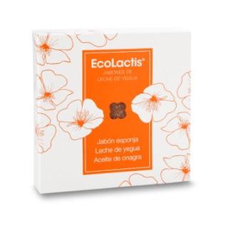 Ecolactis jabón-esponja con leche de yegua y aceite de onagr