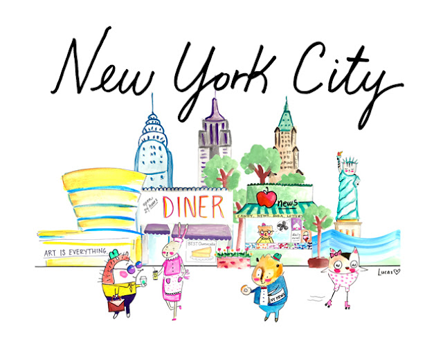 New York City by Lady Lucas | Linzer Lane Blog