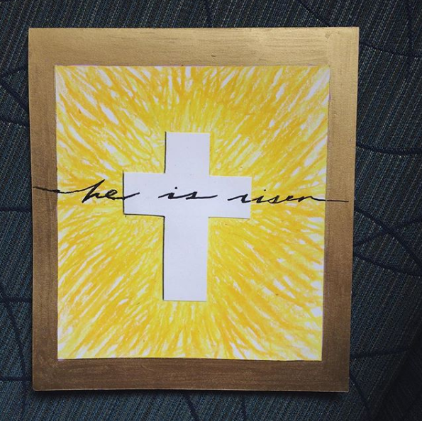 100 cards in 100 days // DAY 99: he is risen!