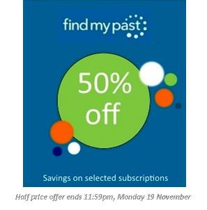 November - half price savings