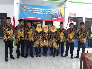 9 Anggota BPD Desa Biting Dilantik