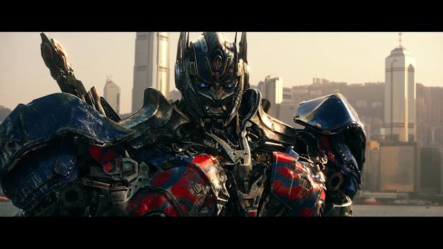 Optimus Prime en una escena de la película