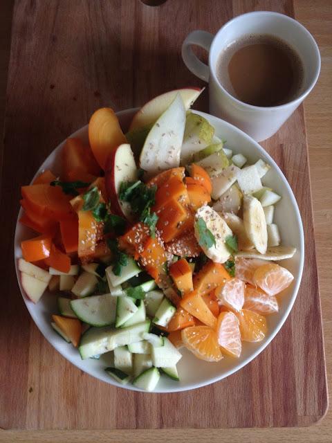 vegaaninen salaattilautanen