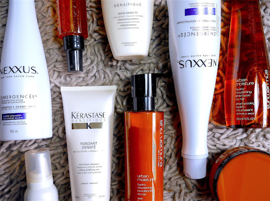 Nexxus, Kerastase and Shu Uemura: Winter Hair Options to Protect, Reconstruct or Thicken