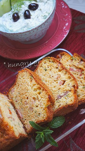 Bacon & Gruyere Zucchini Bread