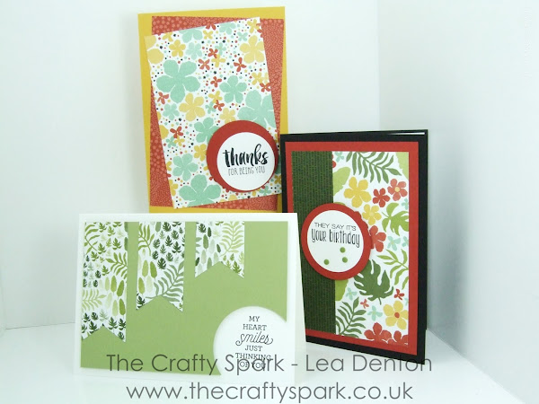 Super Simple Speedy Cards on Sunday #4 - Botanical Gardens & Suite Sayings
