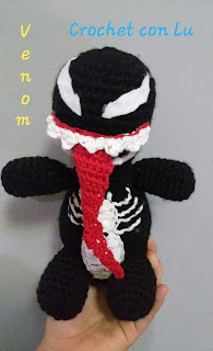 carrioncrowned — ABSOLUTE UNIT Venom crochet tutorial Hey... | 320x195