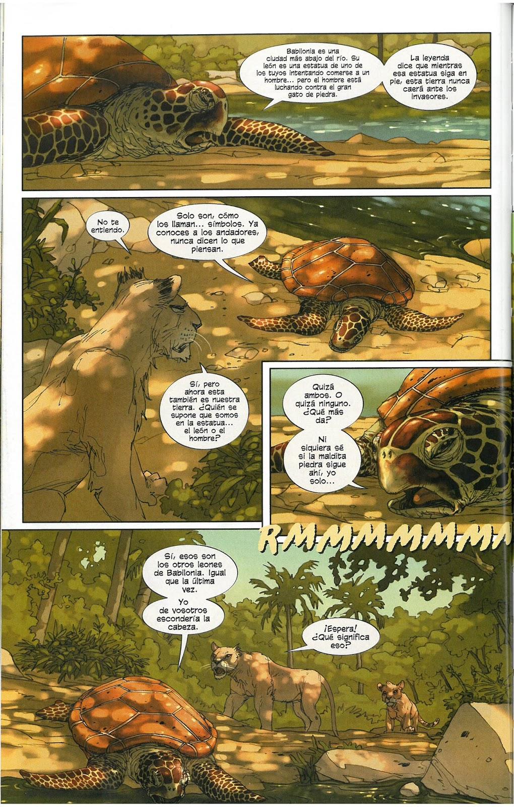 Los comics de Machete: Los leones de Bagdad