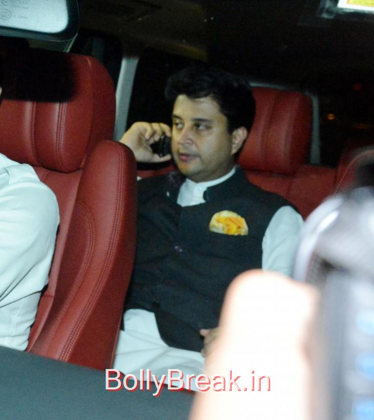 Jyotiraditya Scindia, Bollywood Celebrities, Cricketers Attend Suresh Raina's Wedding