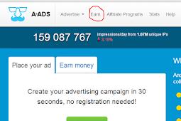 Cara Mendapatkan Bitcoin a-ads dot Com
