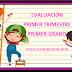 Evaluación 1er Trimestre 1° Primaria Ciclo Escolar 2018-2019.