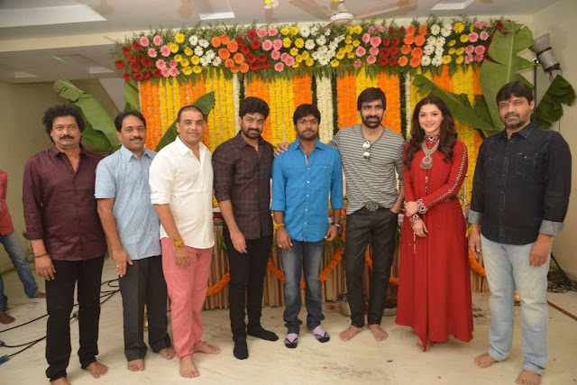 Raja the great movie launch photos