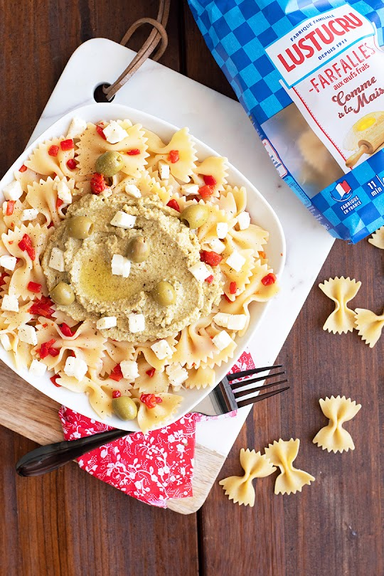 recette Salade de pâtes aux olives