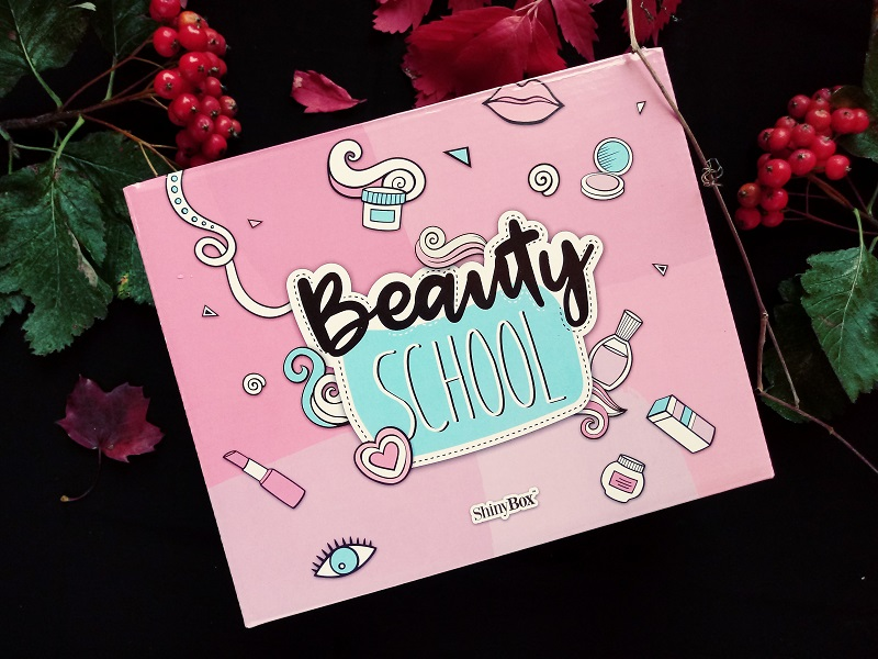 Wrześniowe pudełko shinybox-beauty school 2017