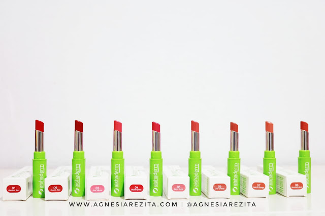 Aishaderm Lipstick Matte All Shades [Swatches & Review]