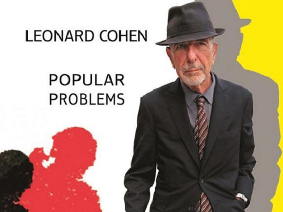 Portada del último disco e Leonard Cohen