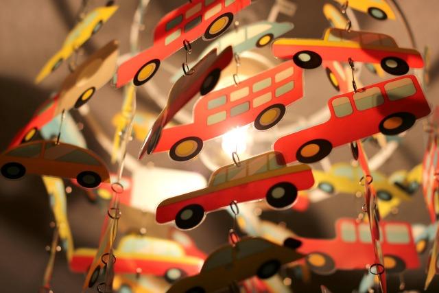 """Kugelfisch-Blog:Lampe """"Autos"""" von Vertbaudet"""