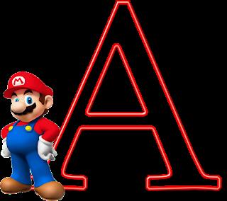 Abecedario con Personajes de Super Mario Bros.