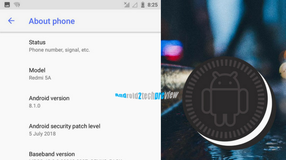 How to Install Android Oreo In Redmi 5A in (Full Guide)