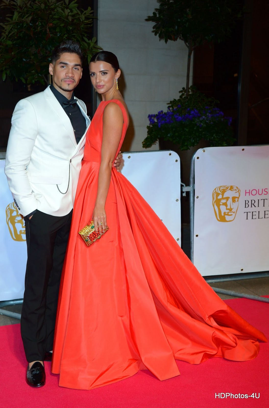 Full HQ Photos of Lucy Mecklenburgh at BAFTA 2015 Awards in London