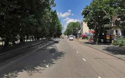 Бульвар Ленина в Симферополе