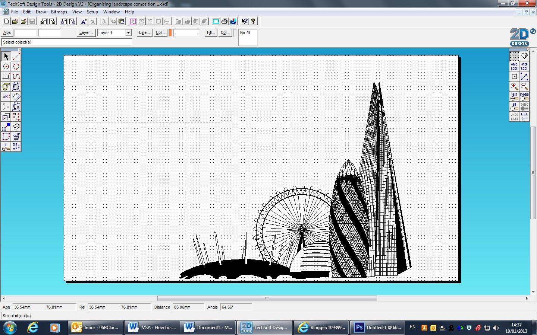 1093997518: 2D design, London composition