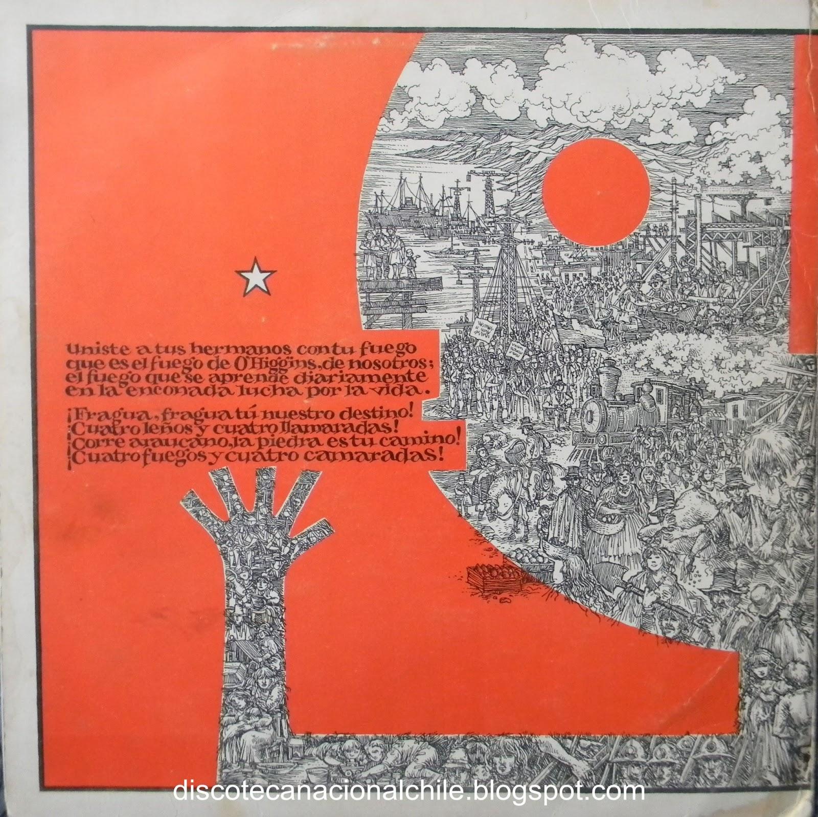 Discoteca Nacional Chile: Quilapayún: La Fragua.JJLS-17. Dicap. 1973 ...