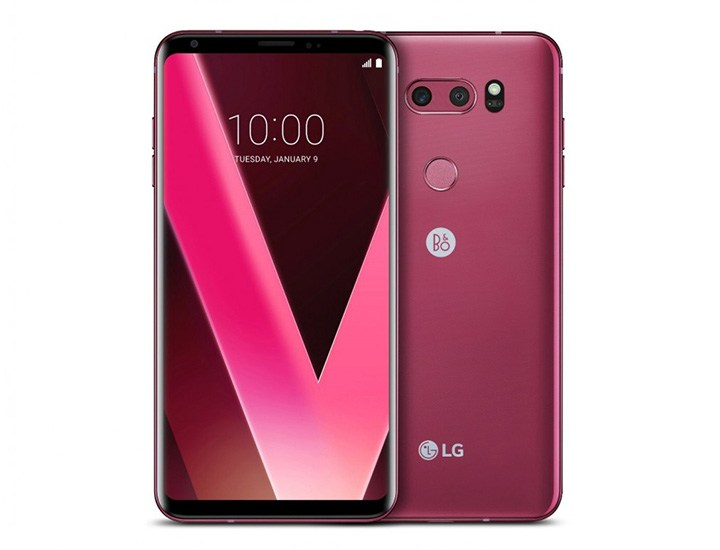 LG to Launch V30 Raspberry Rose at CES 2018