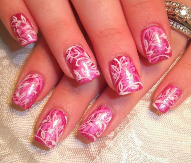 pretty prom nail design tutorials