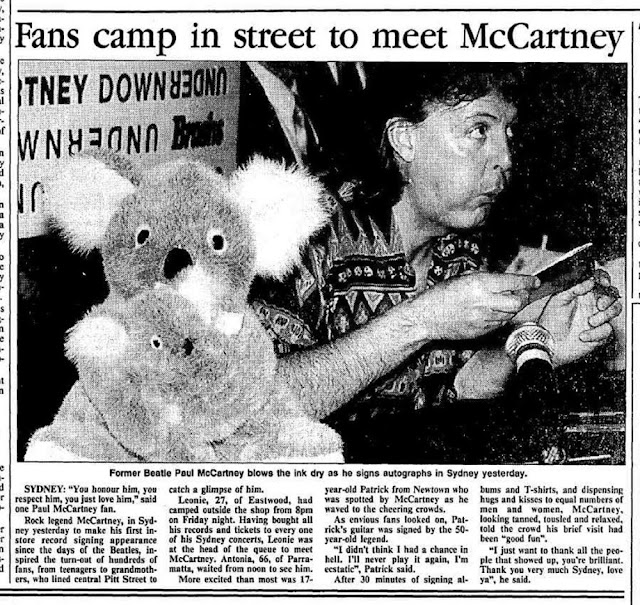 Image result for paul mccartney australia