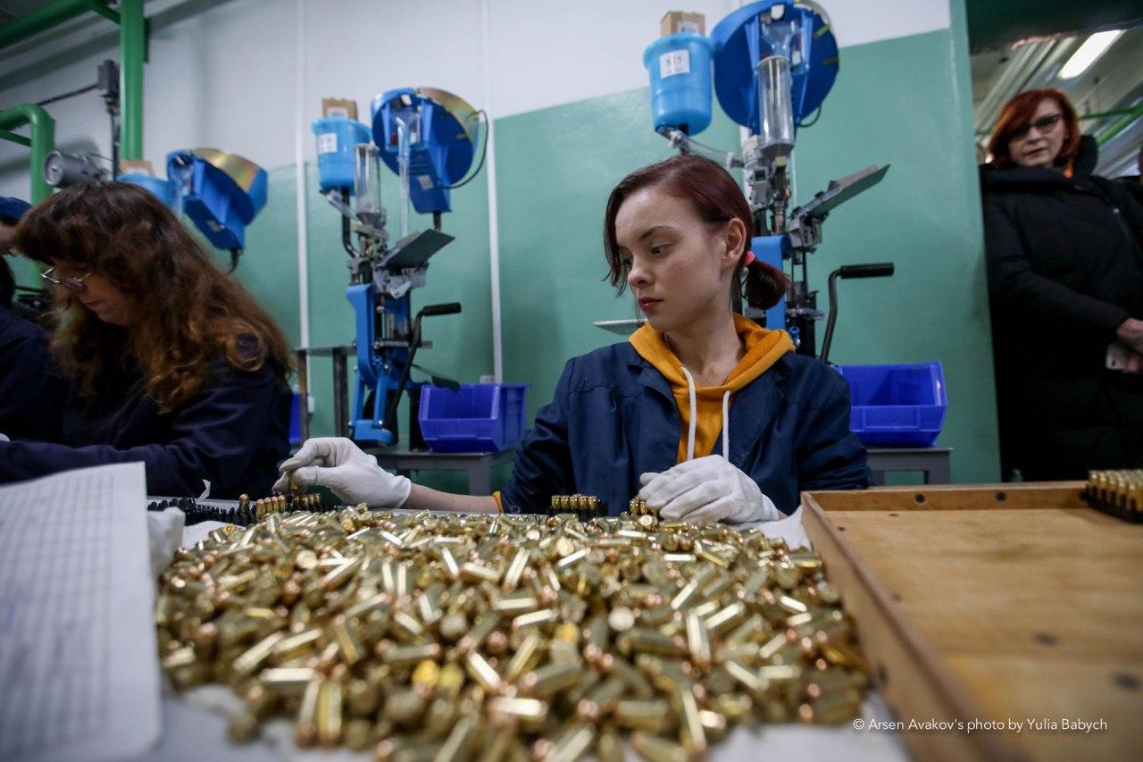 НВО «Форт» запустило виробництво 9-мм набоїв