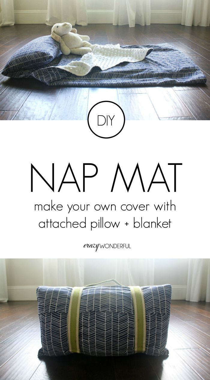Diy Nap Mat Cover Tutorial Crazy Wonderful