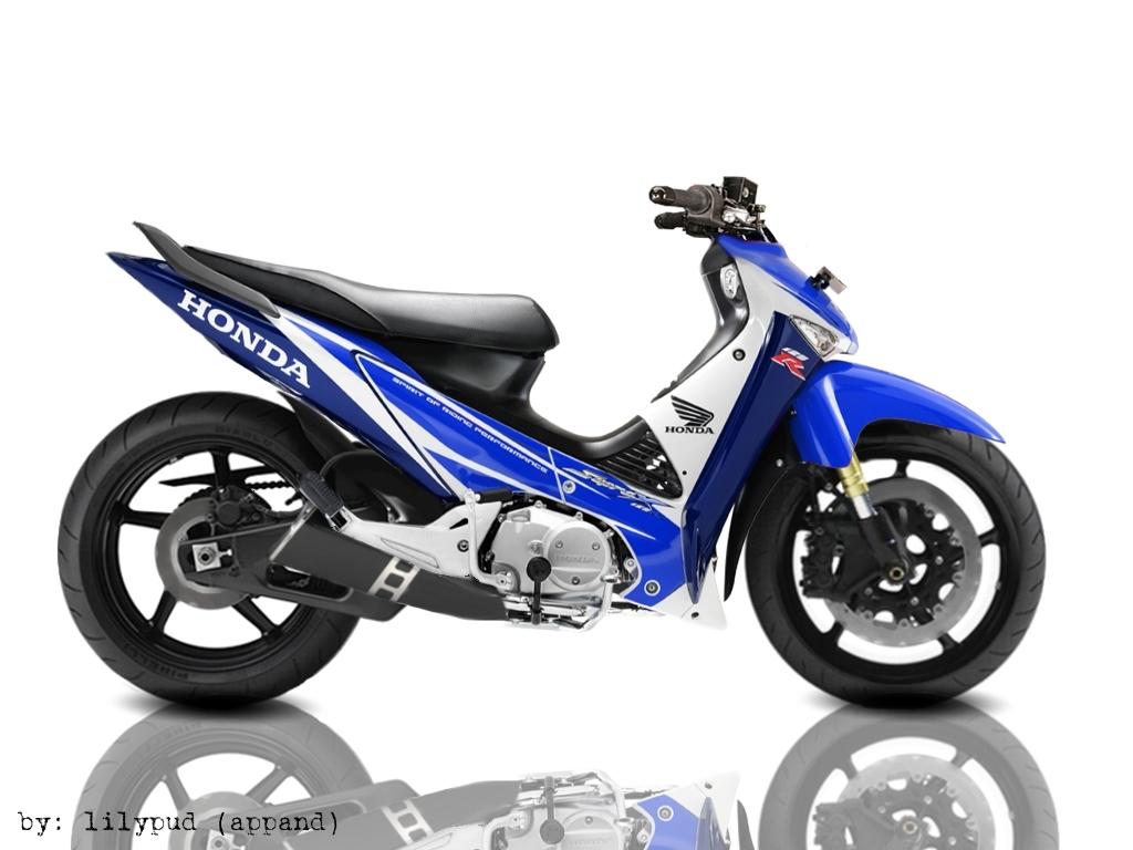 Gambar Modifikasi Motor Supra X Racing