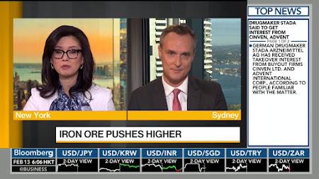 Frekuensi siaran Bloomberg HD di satelit ABS 2 Terbaru