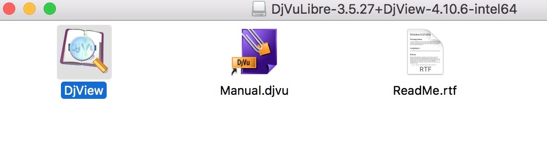 Come aprire file DjVu su mac con djviewer