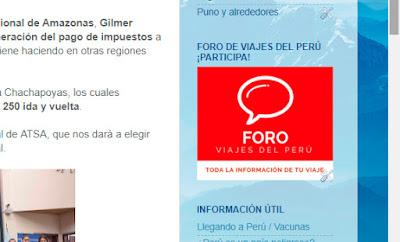 Foro Peru, Foro Viajes Peru, Foro Guia Peru Rutas
