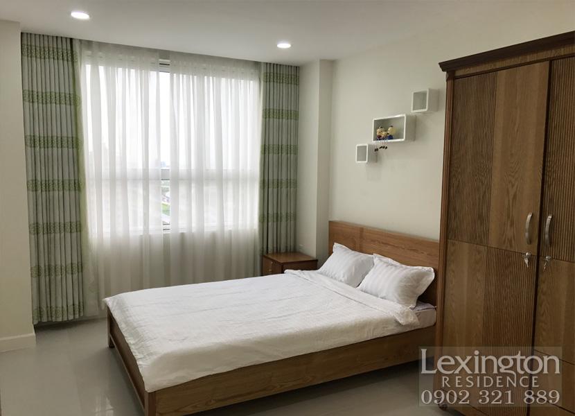 cho thuê căn hộ Lexington 1PN - Giường ngủ và tủ quần áo