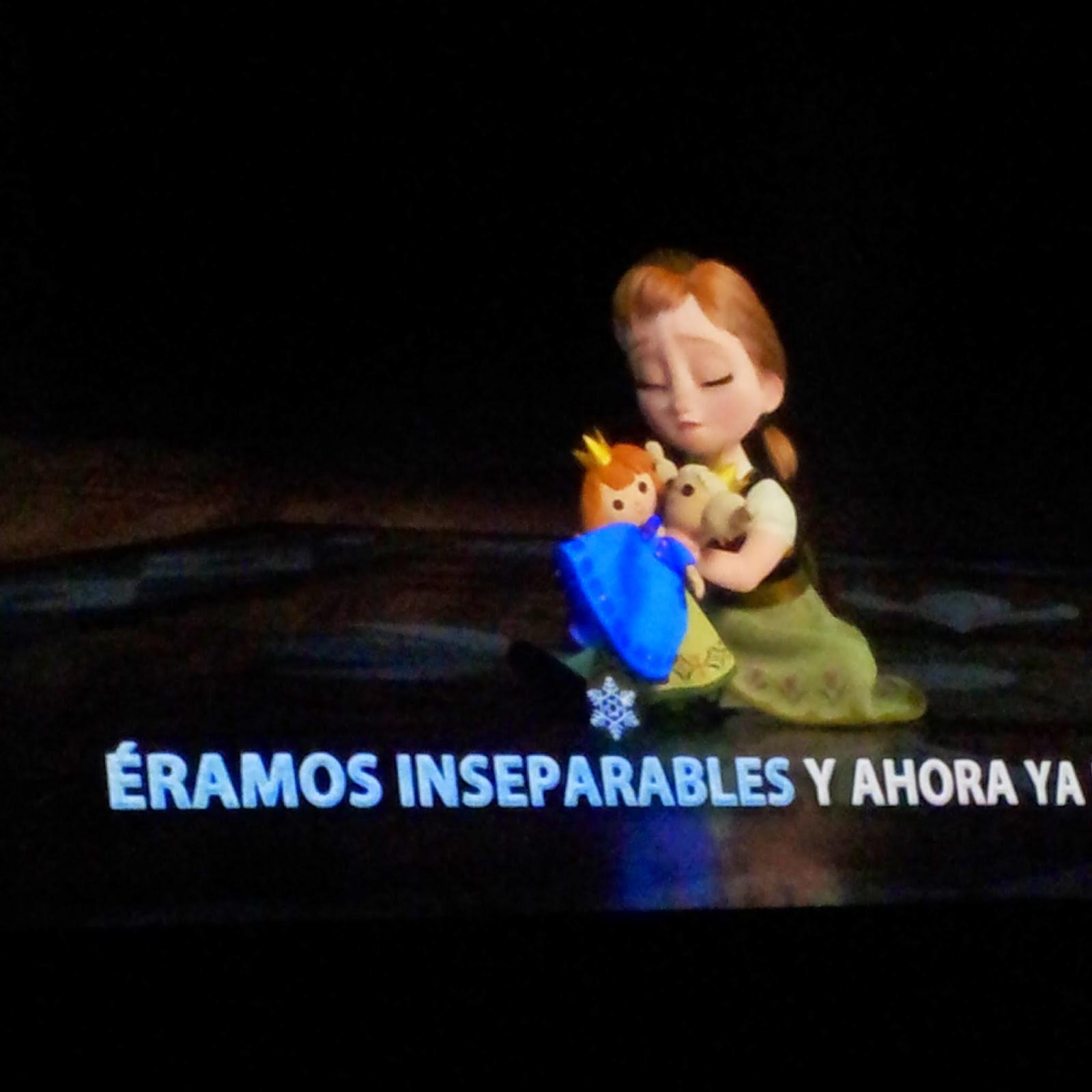 Canta conmigo Frozen - sing-alone