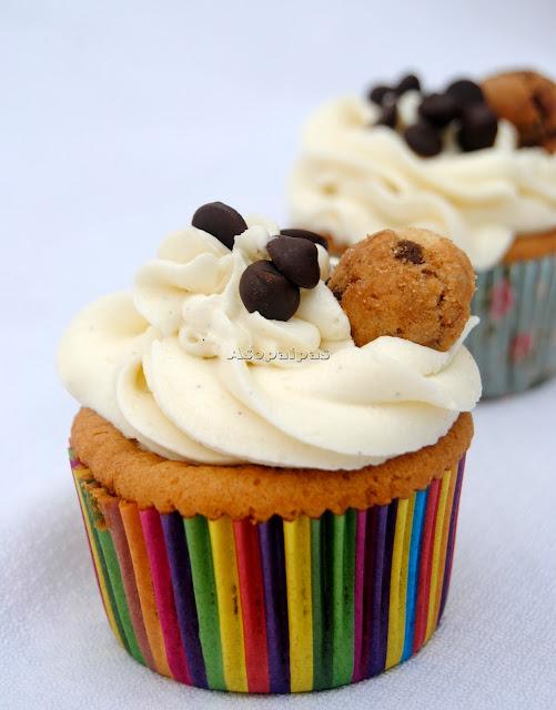 Cupcakes de Cookies