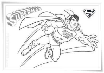 Malvorlage Superman Kostenlos Coloring And Malvorlagan