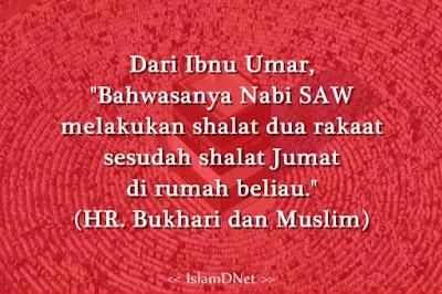 dan tetap di dalam negeri diwajibkan untuk melaksanakan shalat Jum Shalat Sunnah Setelah Shalat Jumat Sesuai Sunnah