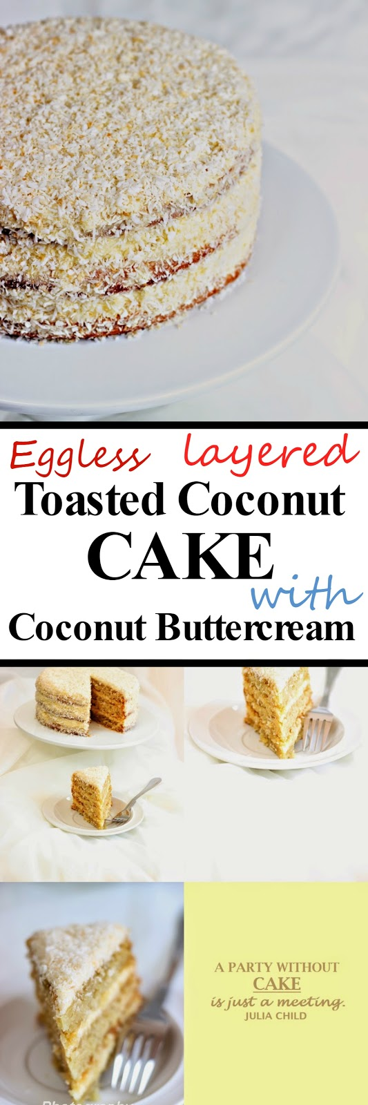 Toasted Coconut Cake Frosting