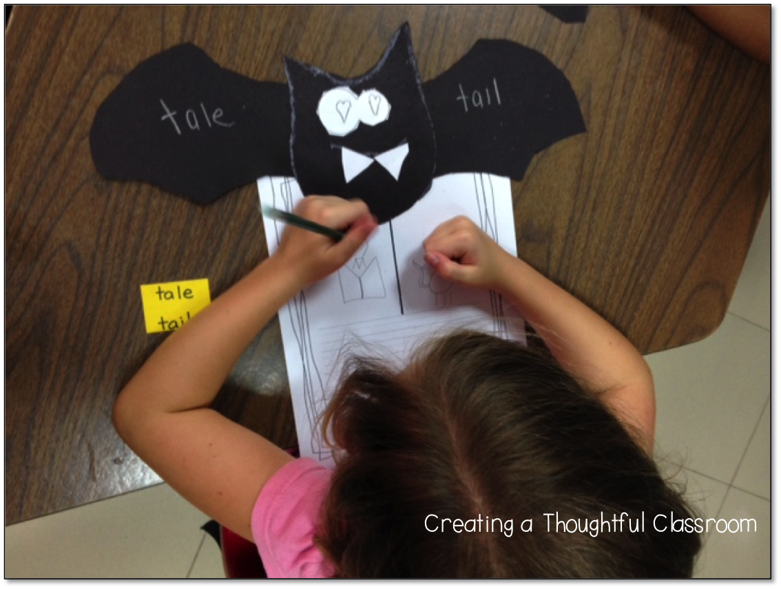 Craft for Introducing Homophones, Creating a Thoughtful Classroom