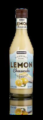 My happy kitchen test: Lemon cheesecake likeur