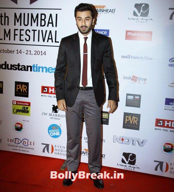 Ranbir Kapoor, Mumbai Film Festival 2014 Photos