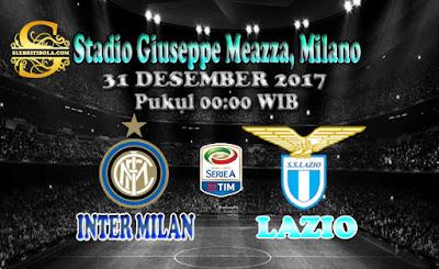 JUDI BOLA DAN CASINO ONLINE - PREDIKSI PERTANDINGAN SERIE A ITALIA INTER MILAN VS LAZIO 31 DESEMBER 2017