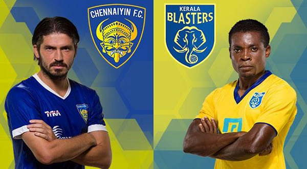 Kerala Blasters Vs Chennaiyin FC Live Streaming