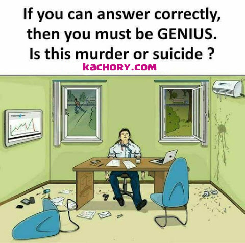 Is this Murder or Suicide Picture Puzzle