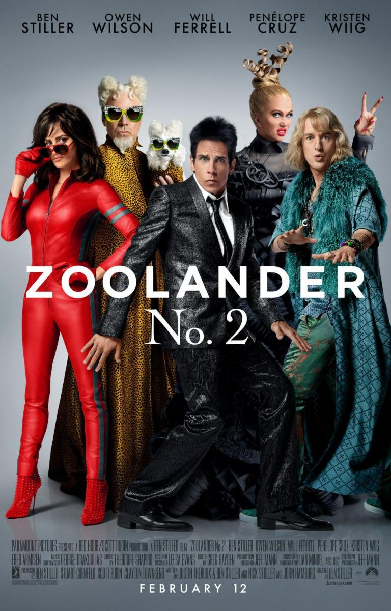 Zoolander No. 2 [2016] [DVD9] [NTSC] [Latino]