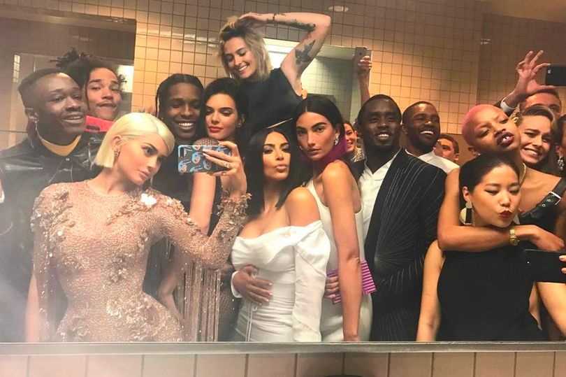 The Met Gala's EPIC bathroom selfie explained from Kylie Jenner's product placement